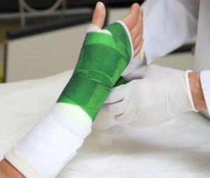 лечение перелома запястья