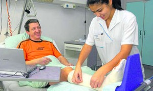Лечение перелома ноги
