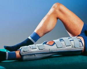 Реабилитация при переломе коленного сустава