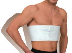 Лечение перелома грудной клетки