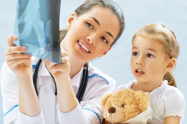 Перелом по типу зеленой ветки у детей